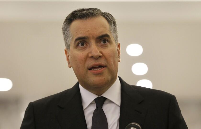 Moustapha Adib, Lebanon's prime minister-designate.