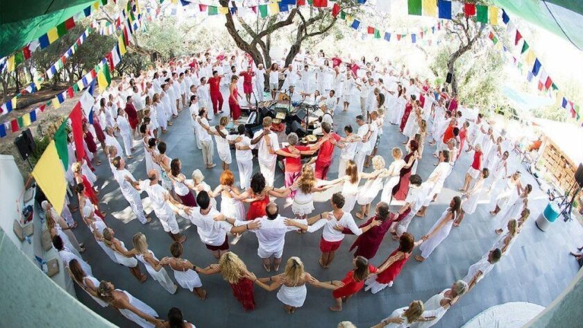 """""""Mantra: Sounds Into Silence"""" visits the Greek island of Corfu, where people have gathered to chant."""