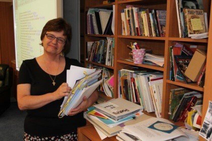 R. Roger Rowe teacher Maureen Cassarino is retiring after 27 years at the school. Photo/Karen Billing