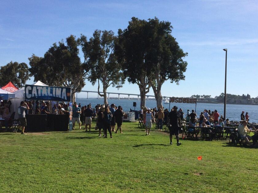 Held Nov. 3 at downtown San Diego's Embarcadero Marina Park South, Guild Fest was the official kick-off event for San Diego Beer Week 2018.