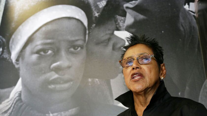 """""""I feel grateful to the jury for understanding that this wasn't an issue of two black women fighting in a bar,"""" Elaine Brown said of her encounter with Councilwoman Desley Brooks. """"This was someone who was an elected official who abused her power."""""""
