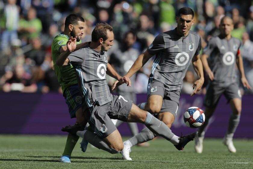 MLS United Sounders Soccer