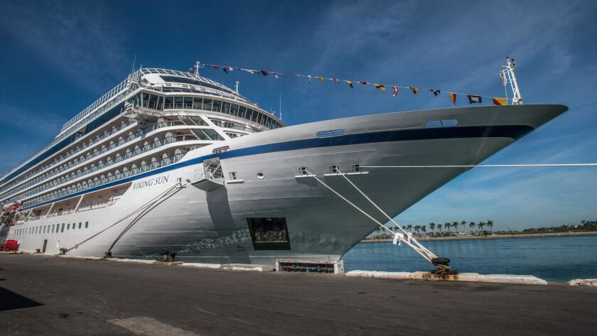 World cruise brought Viking's newest ship to the Port of Los Angeles