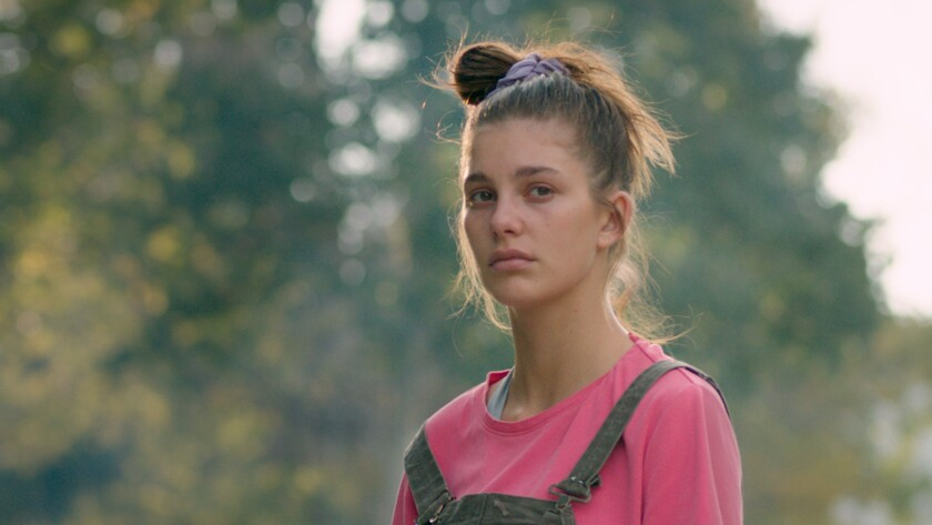 "Camila Morrone in the indie feature ""Mickey and the Bear."""