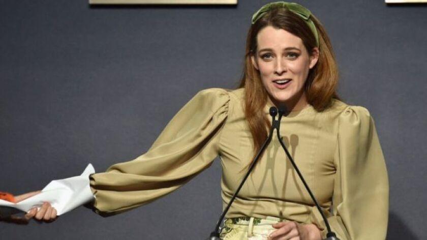 """""""Está en todos lados"""". Es una de las frases más repetidas en los artículos sobre la actriz Riley Keough."""