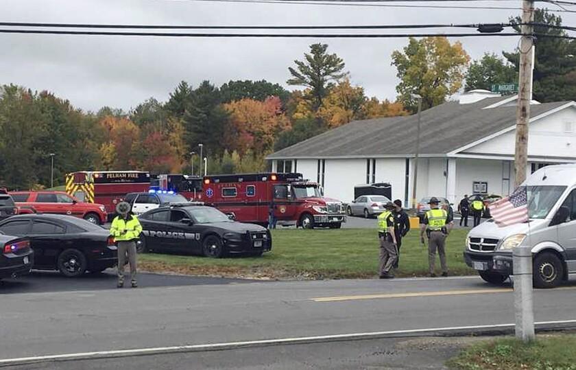 Police At Church