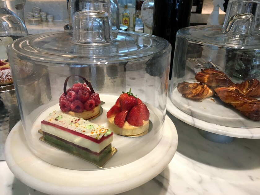 The upscale Marylebone hotel, set in a London neighborhood of shops and restaurants, has an English