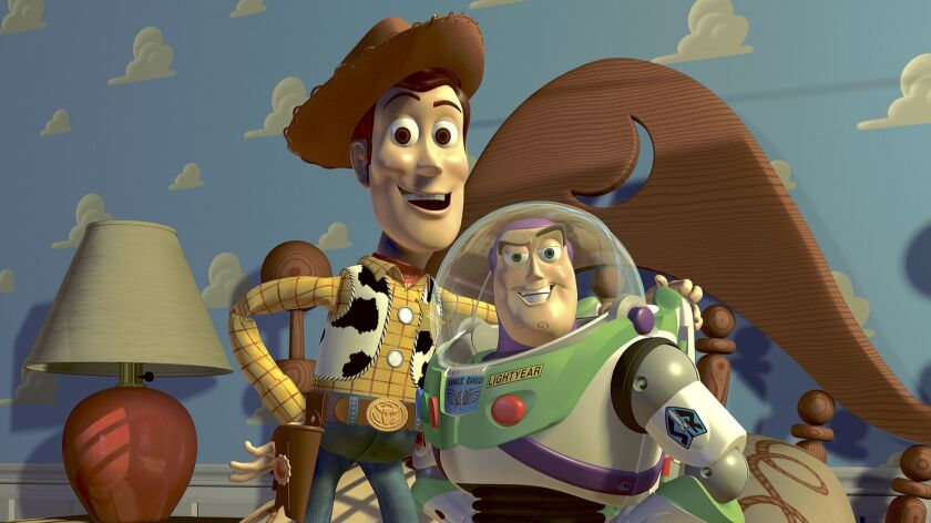 """Woody and Buzz Lightyear, seen here in """"Toy Story 2,"""" will be back for the fourth installment of the animated Pixar franchise in May."""