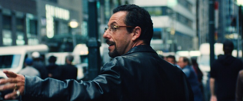 Review: Adam Sandler gives the performance of his career in the razor-sharp 'Uncut Gems'