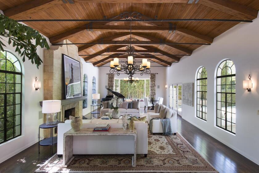 Dennis Quaid's Spanish-style home in Pacific Palisades | Hot Property