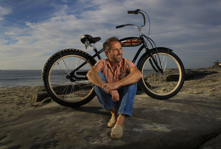 Benno Baenziger of La Jolla is the co-founder of Vista-based Electra Bicycles, which is now one of the largest bike companies in California, selling more than 100,000 bikes a year. Sean M. Haffey • U-T