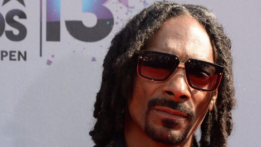 Snoop Dogg in Los Angeles in 2013.