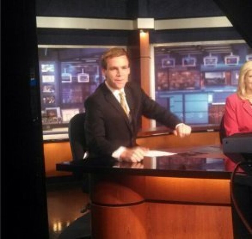 Sports anchor Bryan Fenley. Courtesy photo