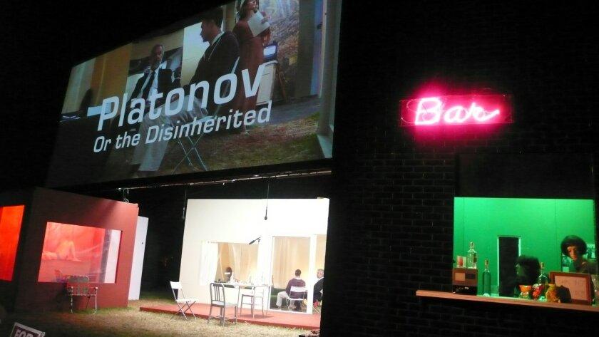 The set of Platanov. Will Bowen