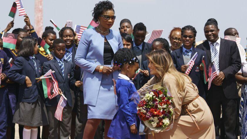 Melania Trump, Gertrude Maseko