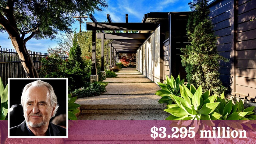 Filmmaker Wes Craven and actor Steve McQueen are among those to have called this Hollywood Hills compound home.