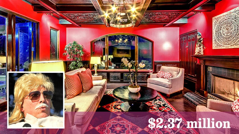 Frontman Maynard James Keenan of the metal bands Tool, a Perfect Circle and Puscifier has sold his Hollywood Hills compound for $2.37 million.
