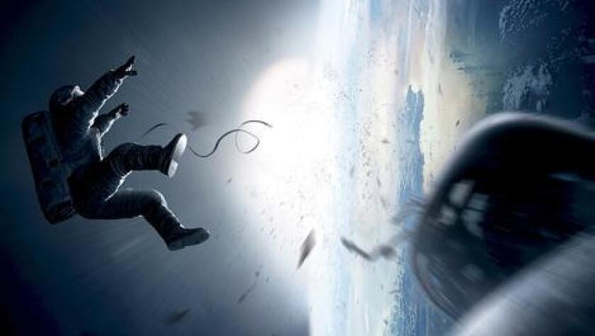 "Sandra Bullock stars in ""Gravity,"" which will open the Venice Film Festival in August."