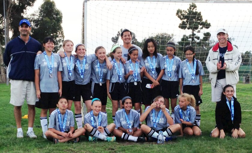 The Girls U12 All-Star team finished as finalists in the La Jolla All-Star Soccer Tournament.