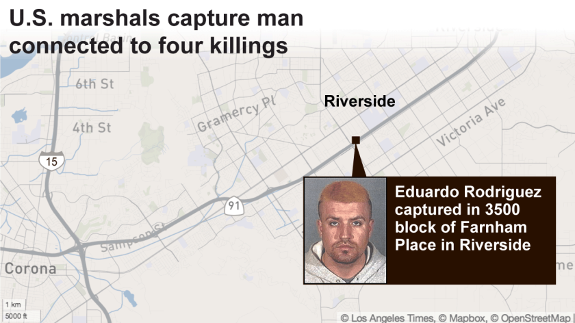U.S. marshals capture man connected to four killings