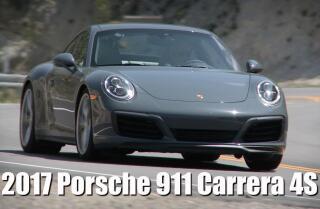 Check out Porsche's new 911 Carrera 4S