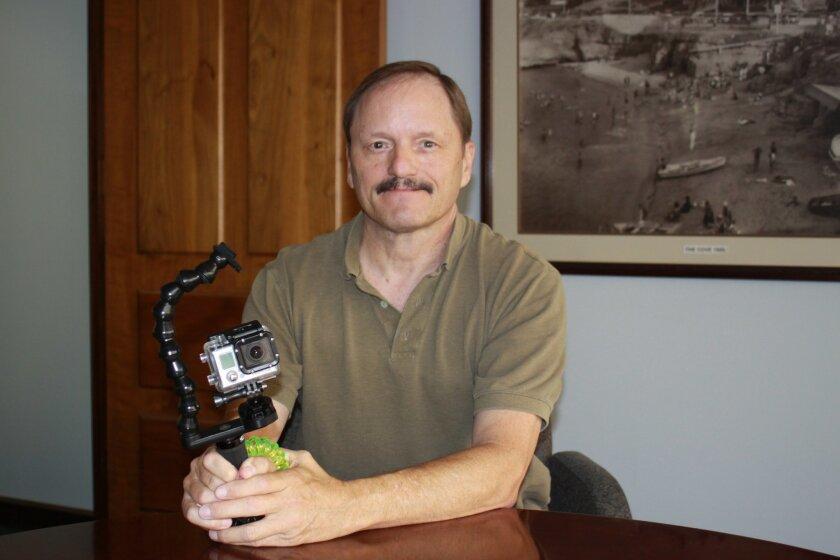 Ocean Sanctuaries co-founder Michael Bear