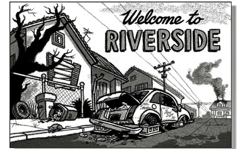 Postcards from the Recession: Riverside