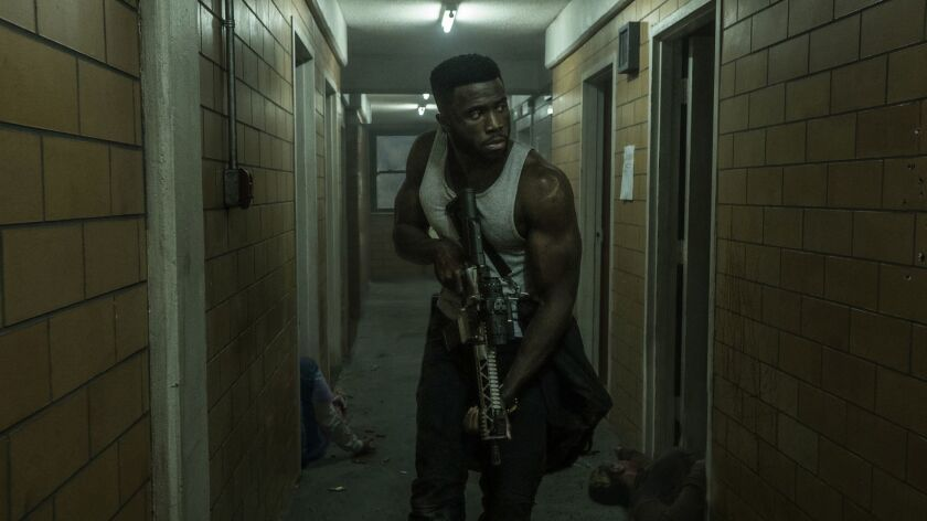 "Y'lan Noel in ""The First Purge"" movie."