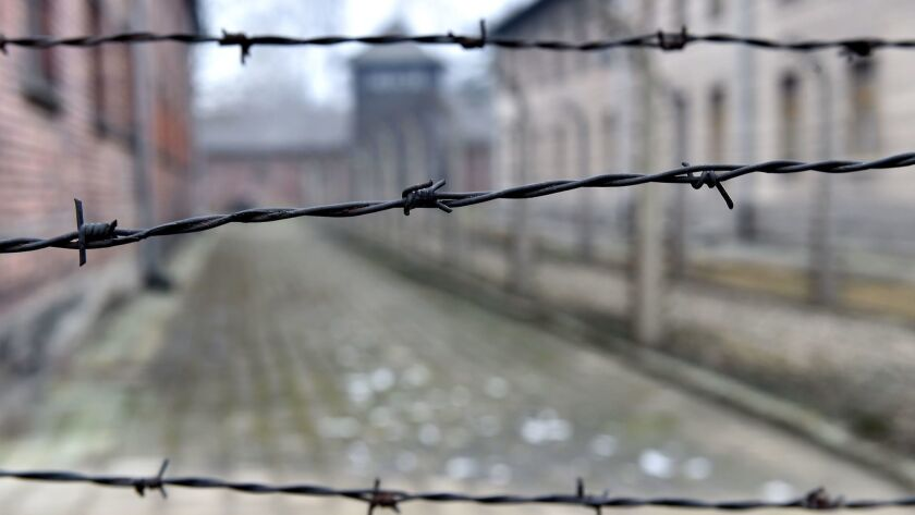 73rd anniversary of the liberation of the former Nazi-German concentration and extermination camp KL Auschwitz-Birkenau, Oswiecim, Poland - 27 Jan 2018