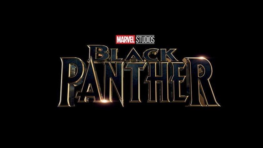 """Logo for Marvel's """"Black Panther."""""""