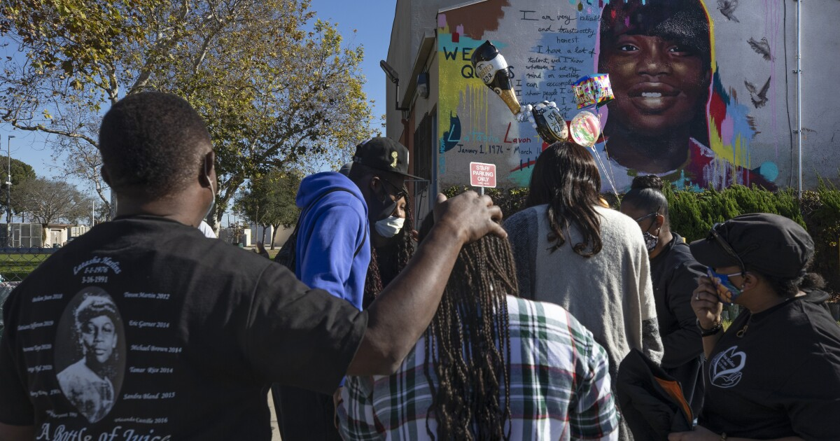 www.latimes.com: Latasha Harlins' name sparked an L.A. movement. 30 years later, her first memorial is up
