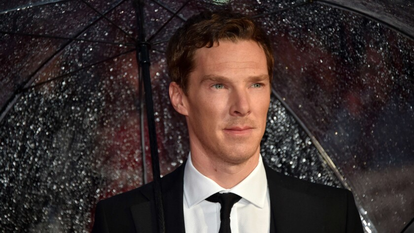 Benedict Cumberbatch, the latest Sherlock Holmes