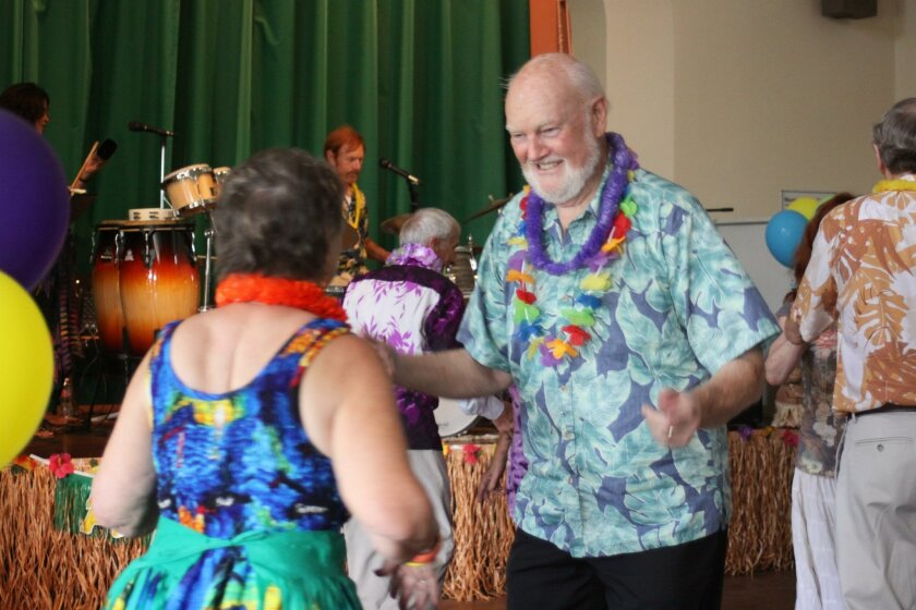 Hugh van Dorn on the dance floor.