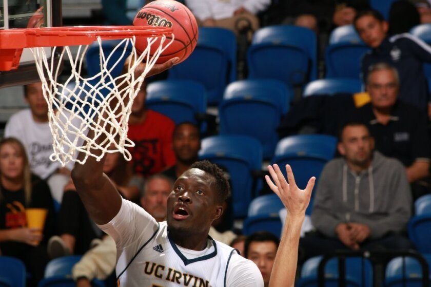 Mamadou Ndiaye was a two-time Big West Conference Defensive Player of the Year for UC Irvine.
