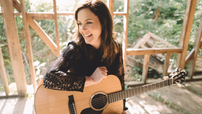 "Singer-songwriter Lori McKenna has written No. 1 hits for Little Big Town (""Girl Crush"") and Tim McGraw (""Humble and Kind"") and is now promoting her own new album ""The Bird & the Rifle."""