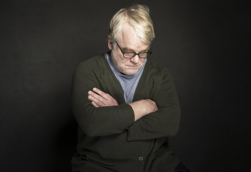 "In this Jan. 19, 2014 photo, Philip Seymour Hoffman poses for a portrait at The Collective and Gibson Lounge Powered by CEG, during the Sundance Film Festival, in Park City, Utah. Hoffman, who won the Oscar for best actor in 2006 for his portrayal of writer Truman Capote in ""Capote,"" was found dead"