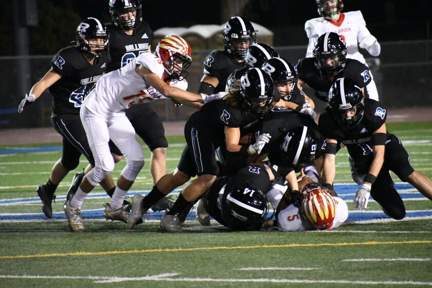 The Ramona Bulldogs have a 2-0 Valley League record after Oct. 1 game against Rancho Buena Vista.
