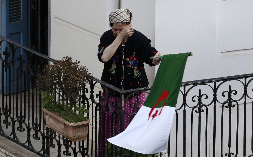 APTOPIX Algeria Presidential Election