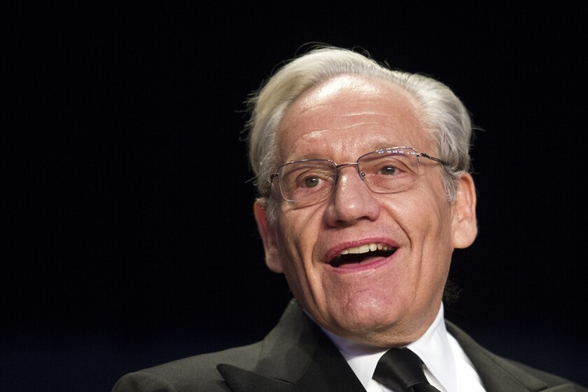 Author Bob Woodward.