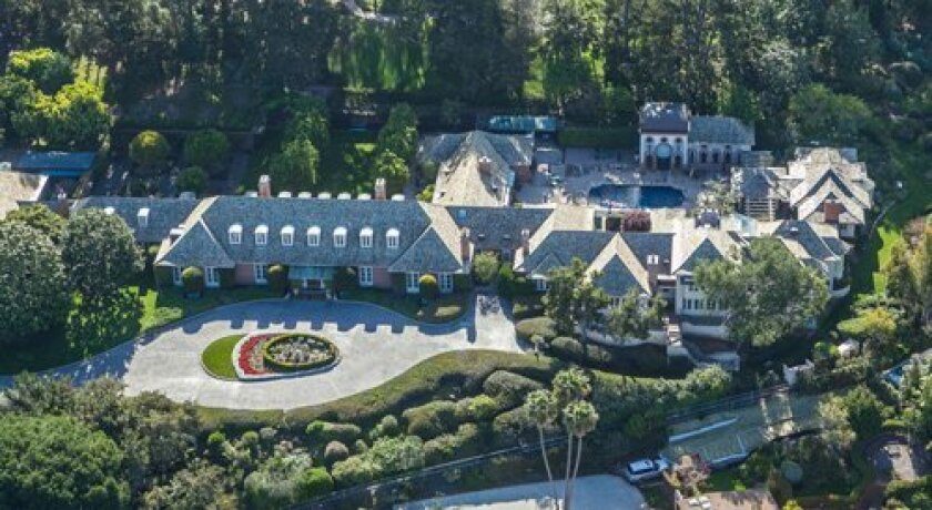Fox Hill is an 8-acre, sea-view estate in the Country Club neighborhood of La Jolla. Formerly a home of the Copley family, it offers 20,000 sq. ft. of living area with a sprawling French country manor home (recently updated with new wing), and several outbuildings, including a guest house, pool pav