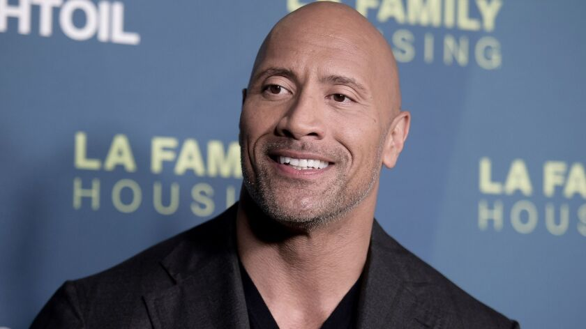 "Actor Dwayne Johnson says a story claiming he criticized millenials was ""100% fabricated."""