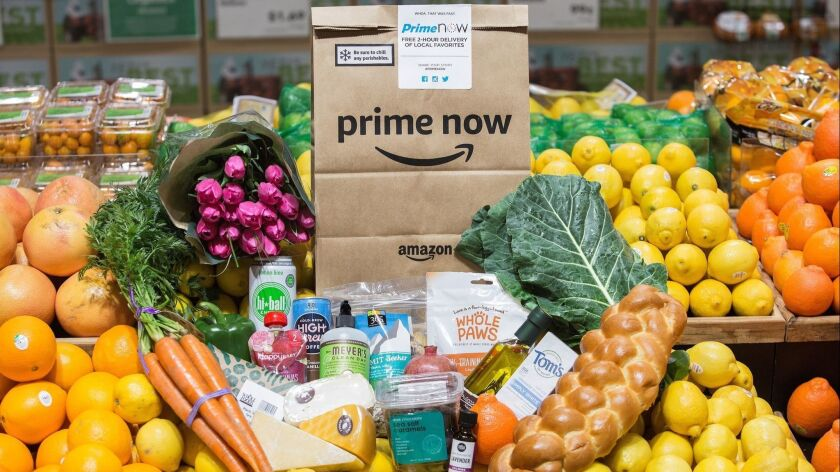 Amazon Prime members can now get free two-hour delivery of Whole Foods merchandise.