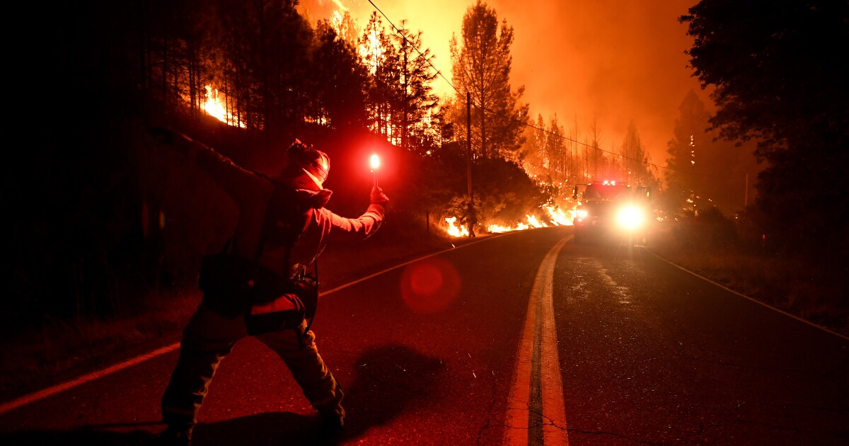 Woman charged with arson in 2018 Northern California wildfire - Los Angeles Times