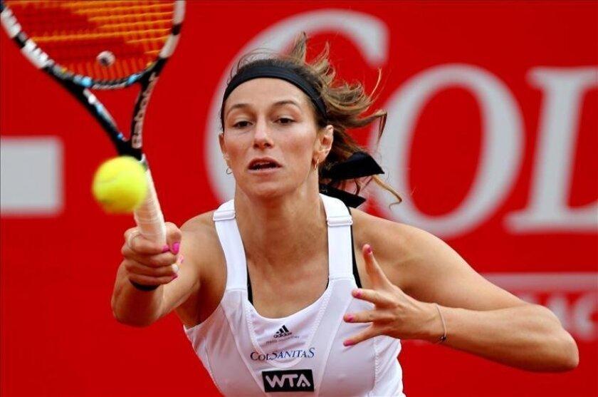 La tenista colombiana Mariana Duque. EFE/Archivo