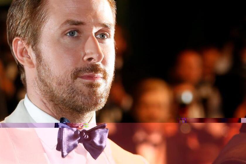 """El actor Ryan Gosling volverá a trabajar con Damien Chazelle, el director del largometraje musical """"La La Land"""", para llevar a cabo una película sobre la vida del famoso astronauta Neil Armstrong. EFE/EPA/ARCHIVO"""