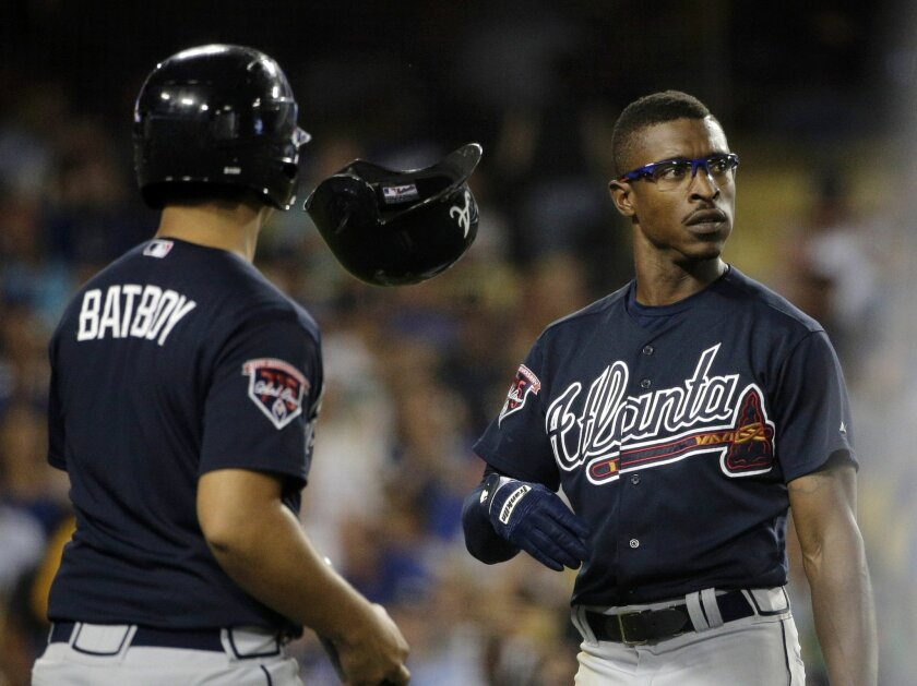 In less than happy days with the Atlanta Braves, outfielder B.J. (now Melvin Jr.) Upton angered himself and fans with his under-performance, so it was striking that his first gamel with the Padres on Monday was at Turner Field.