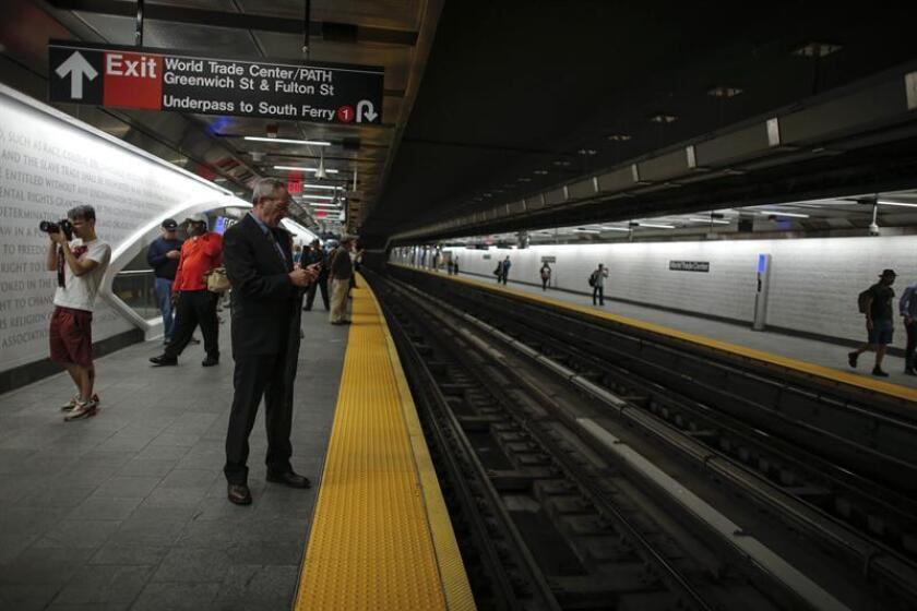 Nueva York anunció hoy la dimisión del director de la Autoridad Metropolitana de Transporte (MTA), Joseph J. Lhota, tras poco más de un año en el cargo. EFE/ARCHIVO