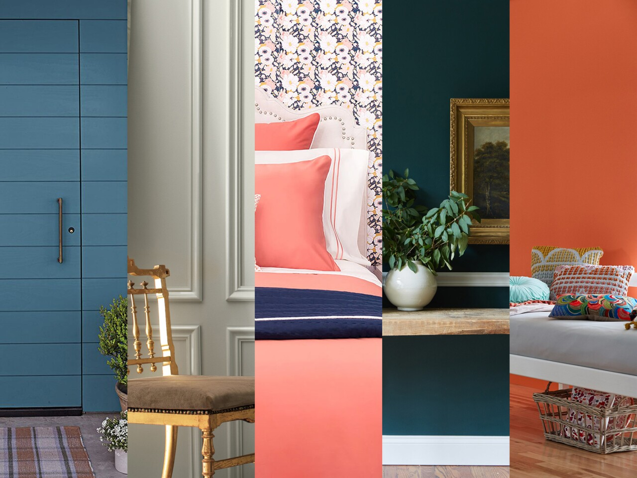 Shades of blue, green, coral, and gray are among the colors picked by various style gurus as the reigning color of 2019.