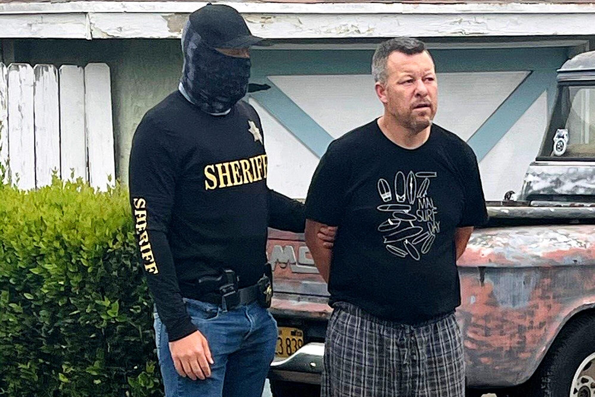 Paul Flores is arrested