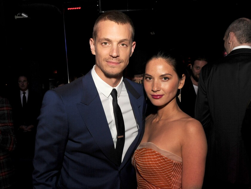 "Olivia Munn of ""The Newsroom"" and Joel Kinnaman of ""The Killing"" have split up, according to reports."